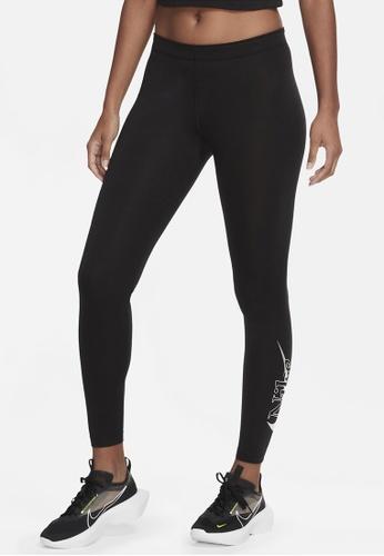 Nike black AS Women's Sportswear Icon Clash Tights B2753AA069CF0EGS_1