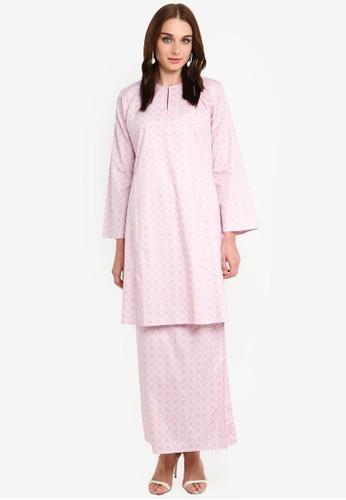 Butik Sireh Pinang pink Nadeera Kurung Pahang 48F50AA5449D35GS_1