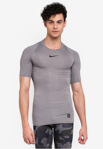 Nike grey Men's Nike Pro Training T-Shirt 52017AAF7D695EGS_1