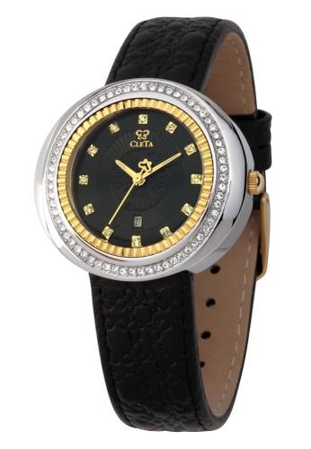 CLETA black and gold CLETA Cub Eye CL10308 Watch CL733AC02FTDPH_1