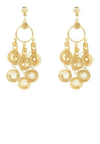 1901 Jewelry gold 1901 Jewelry Vinivera Earrings 099BFAC7F48457GS_1