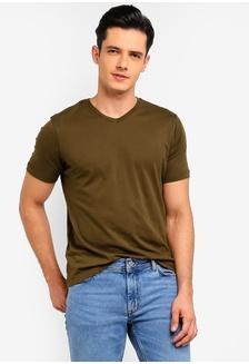 705faf910a9 V-Neck Cotton T-Shirt CF328AA6BA0D2EGS 1