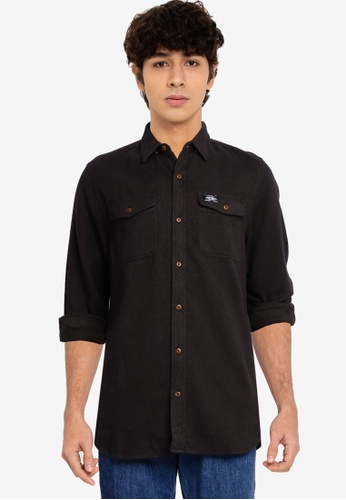 Superdry 綠色 Trailsman Flannel 襯衫 - Original & Vintage 97953AAD0F34C2GS_1
