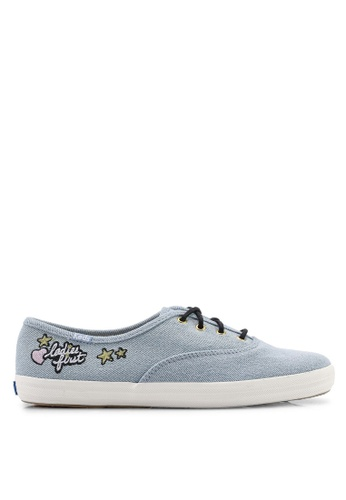 e1f3c69159d9c Keds blue Champion Applique Sneakers 6CB9DSHFC21CABGS 1