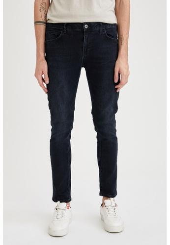 DeFacto blue Skinny Jeans 631A5AA7DCF58DGS_1