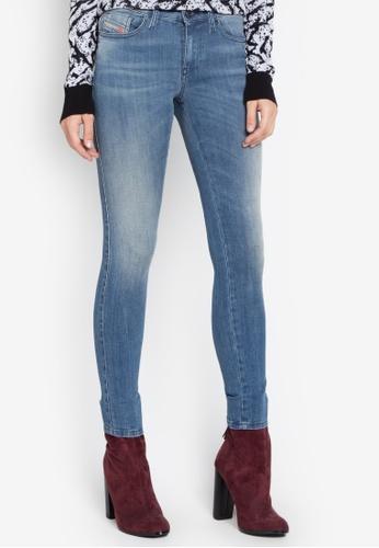 Diesel navy Skinzee L.30 Trousers Jeans DI095AA0JV81PH_1