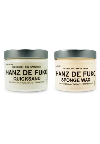Hanz de Fuko Hanz de Fuko Quicksand and Sponge Wax Set HA369BE54MWRSG_1