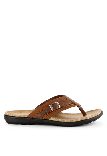 Homyped brown Manta 01 Men Sandals BA06CSH250476AGS_1