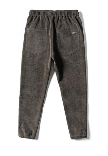 Twenty Eight Shoes brown VANSA Solid Color Velvet Corduroy Casual Pants VCM-P42919V CA35AAA2819403GS_1