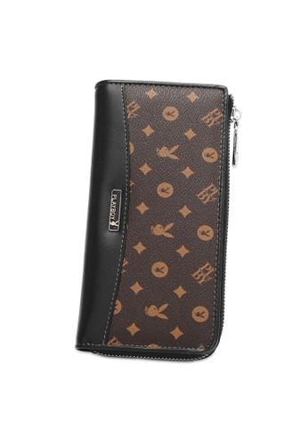 Playboy brown RFID Blocking Long Wallet E9603ACF0F7AC0GS_1