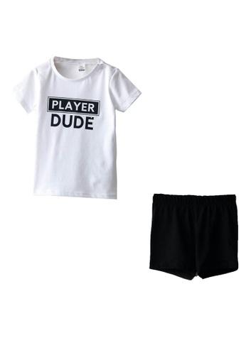 LC Waikiki white Boy Pajamas Set 1E701KA20A27BEGS_1