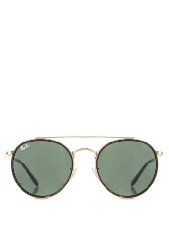 Buy Ray-Ban Round Double Bridge RB3647N Sunglasses Online ...