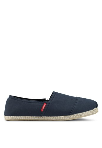 Jack & Jones navy Navy Blazer Canvas Espadrilles 3A29BSH1D74813GS_1