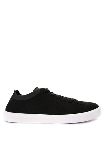Native black Monaco Low Sneakers NA764SH0JR63PH_1