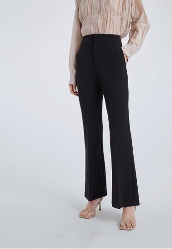 Urban Revivo black Flared Trousers 850DEAAAF77B00GS_1