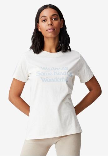 Cotton On white Classic Slogan T Shirt 55809AA22A9055GS_1