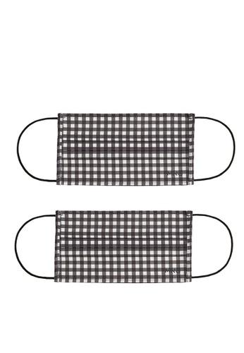 Mango black 2 Pack Reusable Homologated Facemask F672CES5915330GS_1