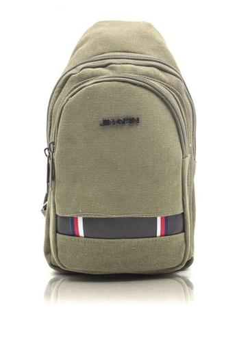 Attraxion Men's and Accessories green Attraxion Alexander – 688 Crossbody Bag for Men 97ACBACECB9D77GS_1