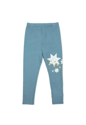 Vauva blue Vauva Girls Stars Skinny Pants - Blue 09D14KA5E90D46GS_1