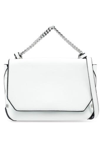 Something Borrowed white Chain Top Handle Sling Bag 455DAAC961E5F3GS_1