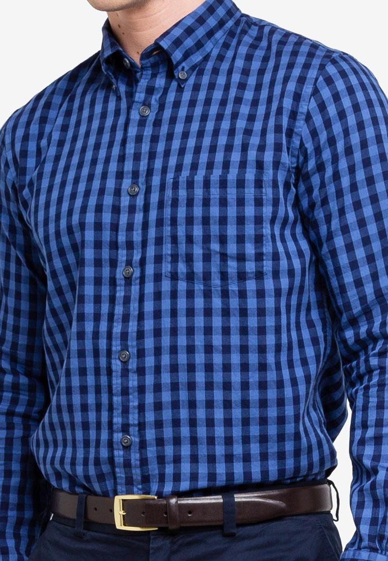 Brothers Twill Indigo Shirt Brooks Navy Sport zOwwxqCT