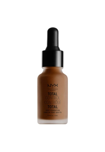 NYX Professional Makeup brown NYX Professional Makeup Total Control Drop Foundation - CHESTNUT 42E6EBE9C1CCBEGS_1