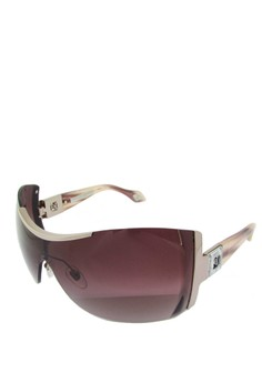 4671d9e81a6e Carolina Herrera brown Rimless Shield Sunglass - SHN015S - 99 - Gradasi  Rose 09EEFGLFE00E2EGS_1