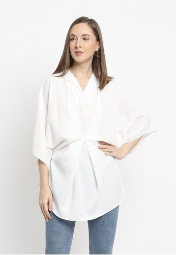 Zoe white Clara Top AC279AAFB4A778GS_1