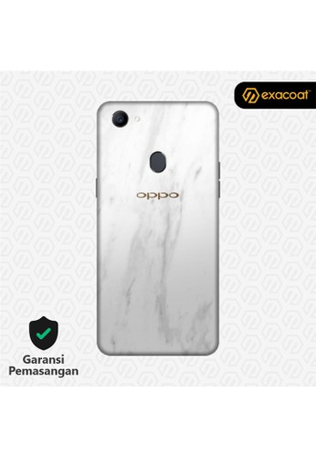 Exacoat Oppo F7 3M Skins Marble White - Cut Only 40532ES2AE6953GS_1