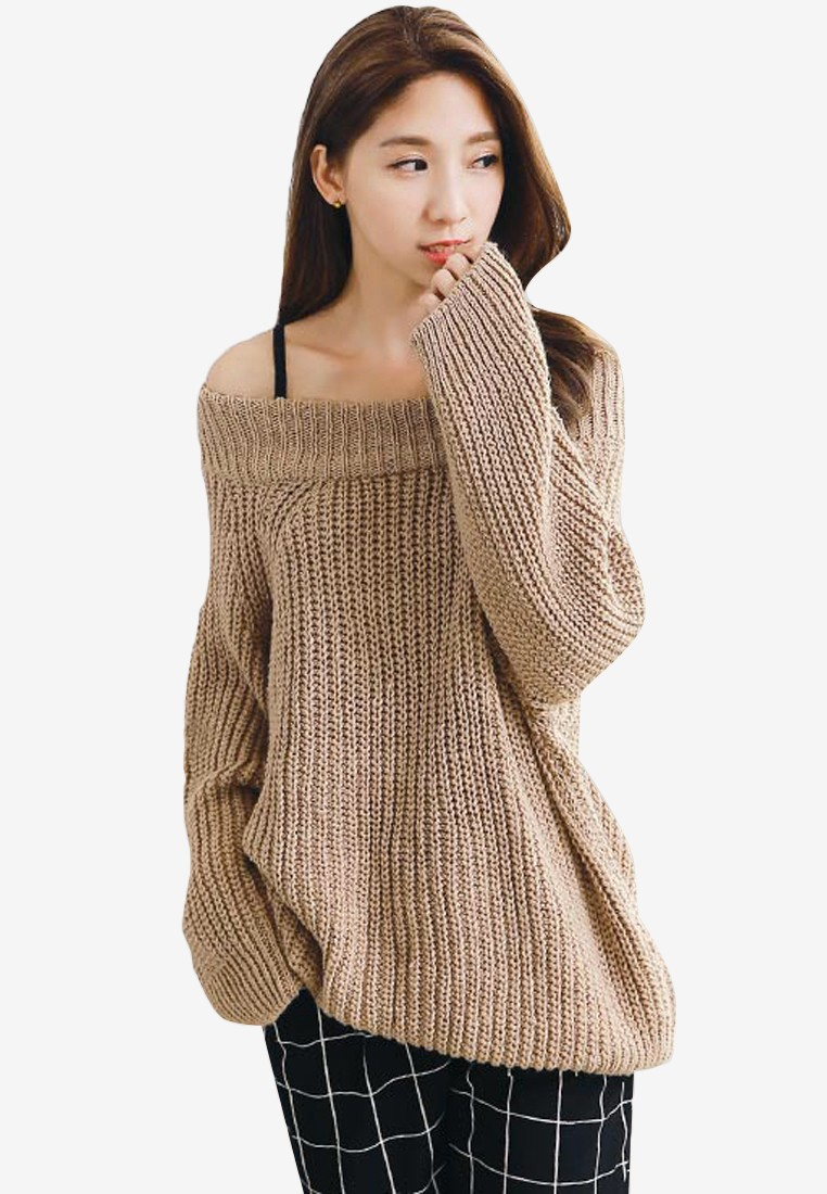 Sensual Knit Oversized Pullover