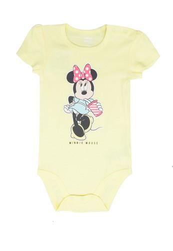 FOX Kids & Baby yellow Short Sleeve Bodysuit 92E09KA4CFFED9GS_1