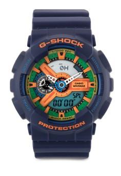 Casio G-Shock Analog Digital Watch GA-110FC-2ADR