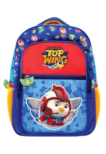 Top Wing blue Top Wing Pre-School Bag (Rod) 80AFEKC03BA7D3GS_1