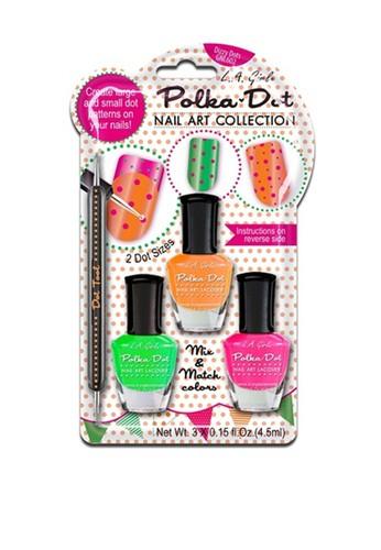 L.A Girl multi LA Girl Nail Art Polka Dot Dizzy Dots BEEF0BEECE34CEGS_1
