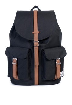 084dbef6395 Herschel black Herschel Dawson Backpack Black - 20.5L B9DA0AC9E9B8A0GS 1