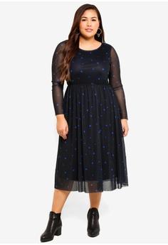 2c996c1d494 67% OFF Junarose Plus Size Nadia Below Knee Dress S  88.90 NOW S  28.90  Sizes M