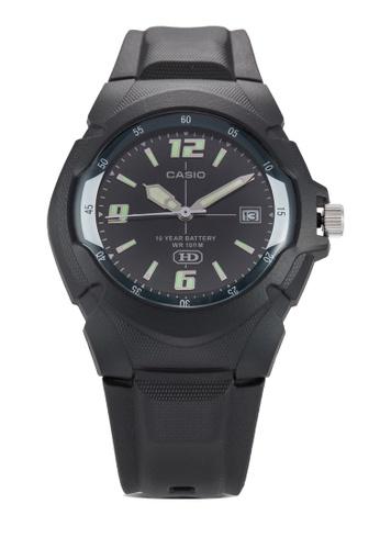 Casio black Casio Enticer Analog Black Dial Watch CA843AC48CAHMY_1