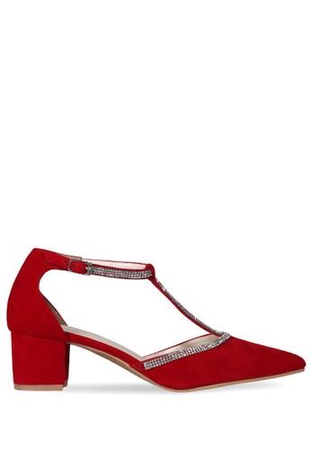 CLAYMORE red Claymore Mid Low Heels  MZ - 1722 Merah CL635SH01VBYID_1