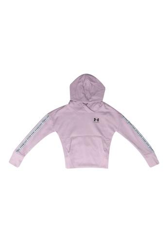 Under Armour pink UA Sportstyle Fleece Hoody C047FKA1F1FBBEGS_1