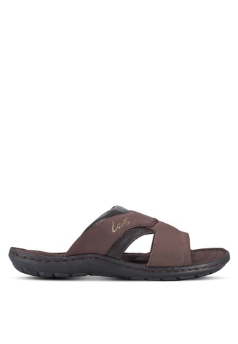 Louis Cuppers brown Casual Sandals LO977SH54BABMY_1
