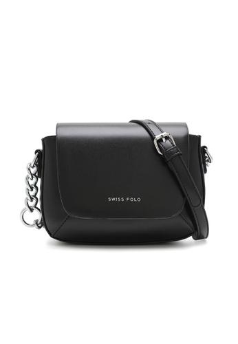 Swiss Polo black Casual Sling Bag CC130ACB4EF2D8GS_1
