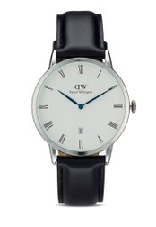 Daniel Wellington black and silver Dapper Sheffield-Watch Silver 38mm DA376AC95UBGMY_1
