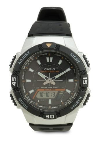 AQ-S800W-1EVDF 多功能指針電子錶, zalora是哪裡的牌子錶類, 其它錶帶
