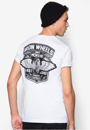 Iron Wheels 圖文設計esprit香港分店T 恤, 服飾, T恤