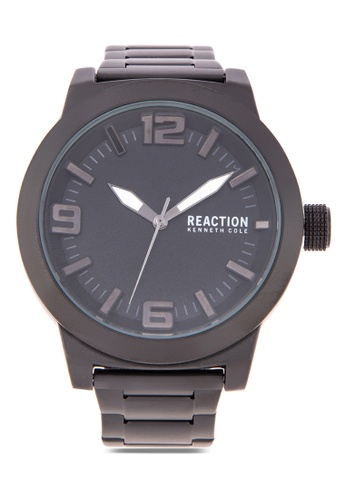 c2a53ec97 Kenneth Cole Reaction grey Men Metallic Gray Stainless Steel Strap Analog  Watch E3B01ACC1A570CGS_1
