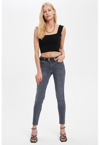 DeFacto grey Woman Denim Trousers 9DD14AA0E8AA7CGS_1