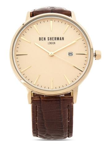 Ben Sherman brown Portobello Professional Analog Watch BE007AC50NPHPH_1