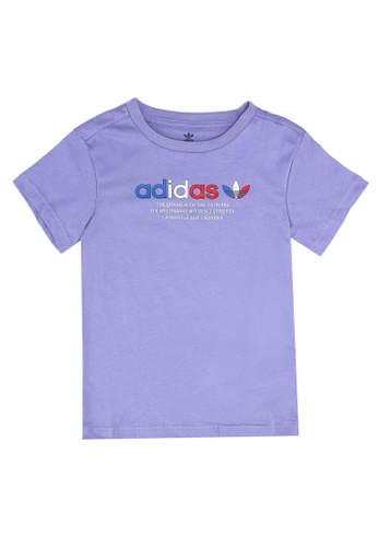 ADIDAS purple adicolor graphic tee 09464KA059BD8CGS_1