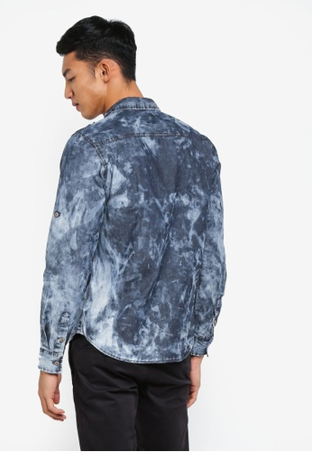 6c9f24be4f Buy Fidelio Acid Wash Denim Shirt