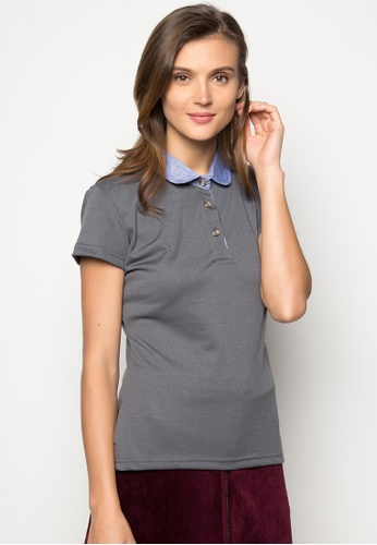 e7e7b896 Shop Courier Peter Pan Collared Polo Shirt Online on ZALORA Philippines